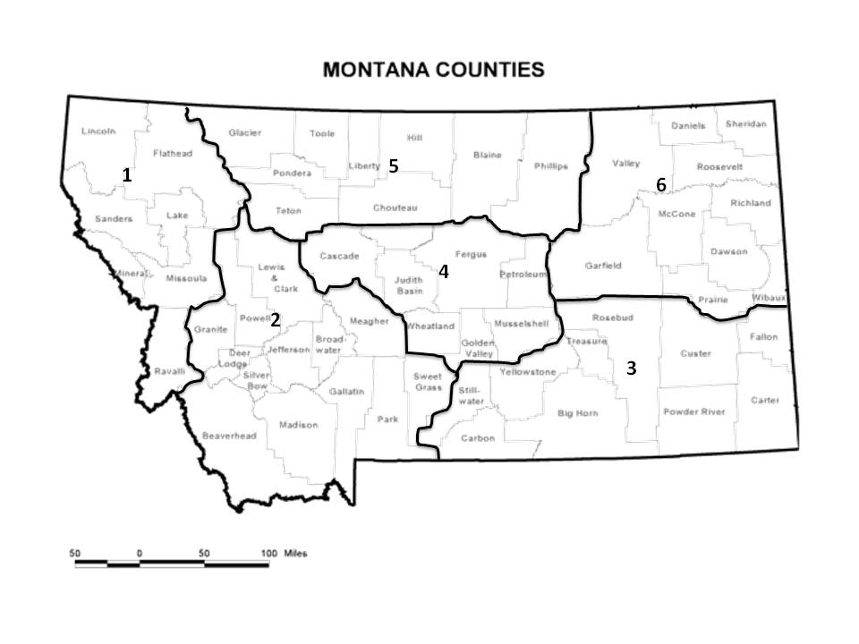 Image Result For Map Montana And